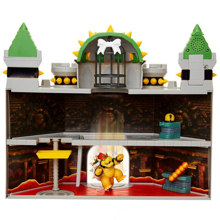 Super Mario Bros. Deluxe Bowser's Castle Playset