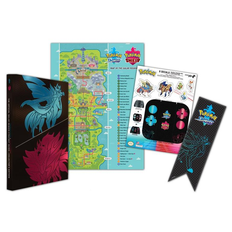 Pokemon Sword and Shield: The Official Galar Region Strategy Guide Collector's Edition