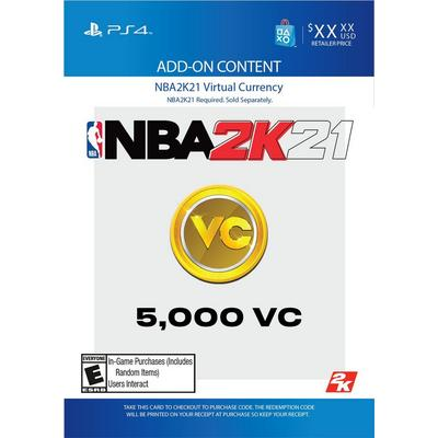 NBA 2K20 5000 Virtual Currency