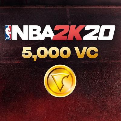 NBA 2K20 5000 Virtual Currency
