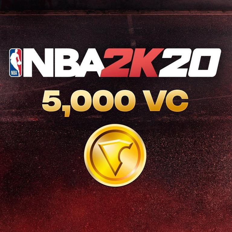 NBA 2K20 5,000 Virtual Currency