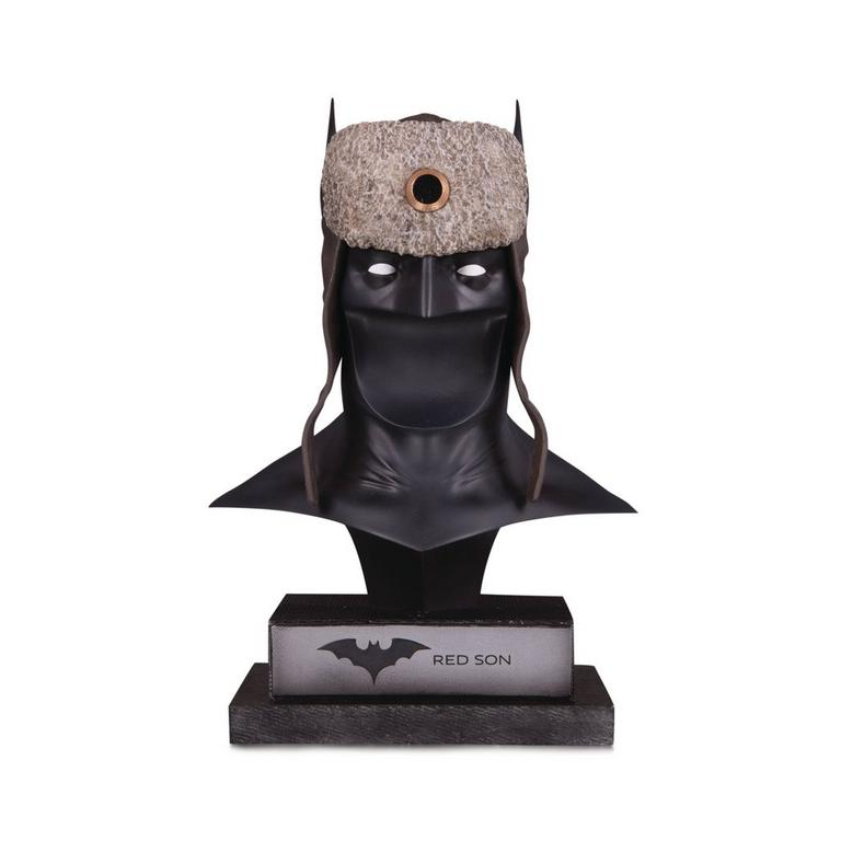 Red Son Batman Cowl DC Gallery Statue