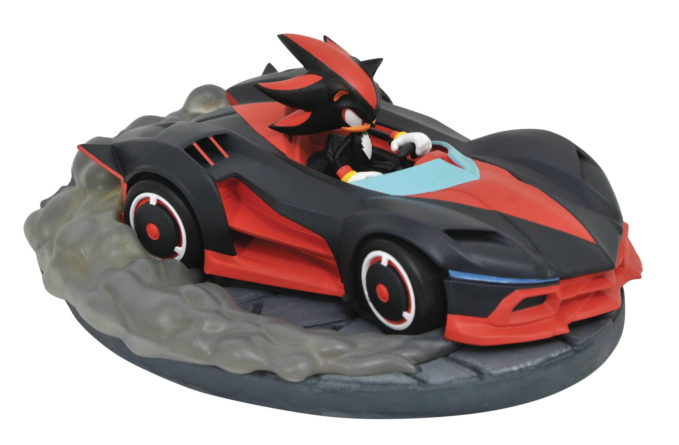 Team Sonic Racing Shadow The Hedgehog Racer Statue Gamestop