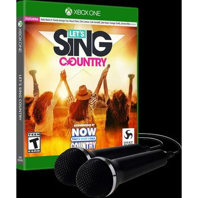 Let's Sing Country with 2 Mics Bundle