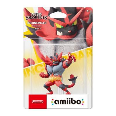 Super Smash Bros. Incineroar amiibo