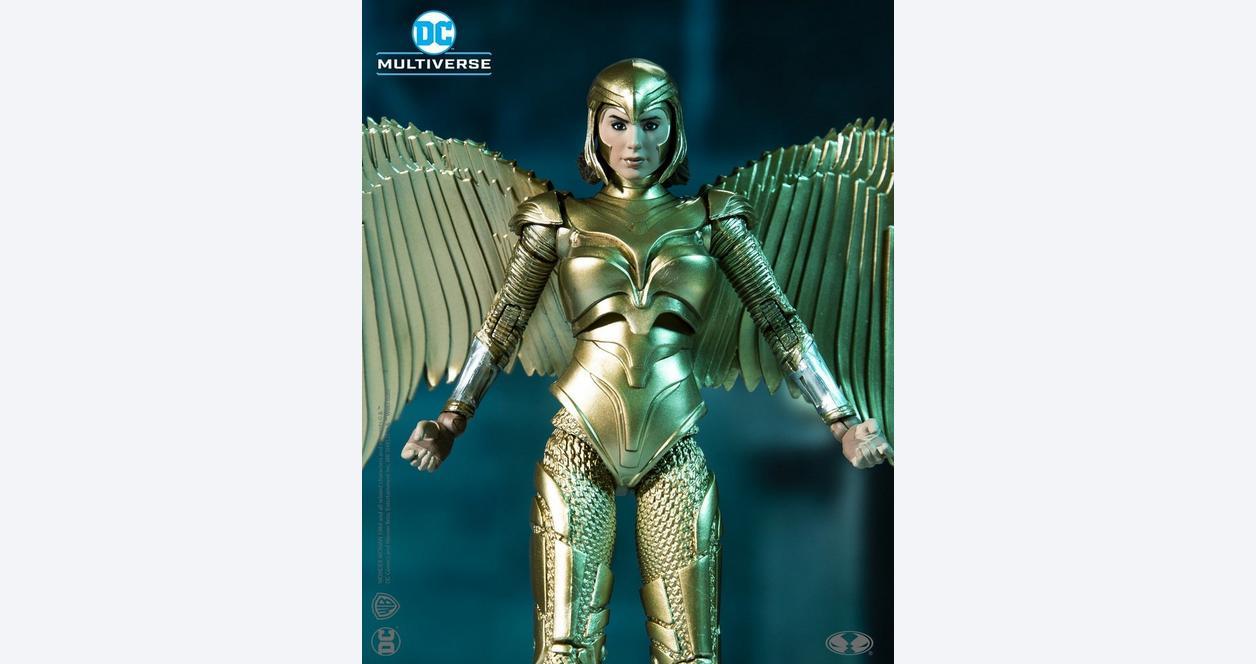 Wonder Woman 1984 Wonder Woman Golden Armor DC Multiverse Action Figure