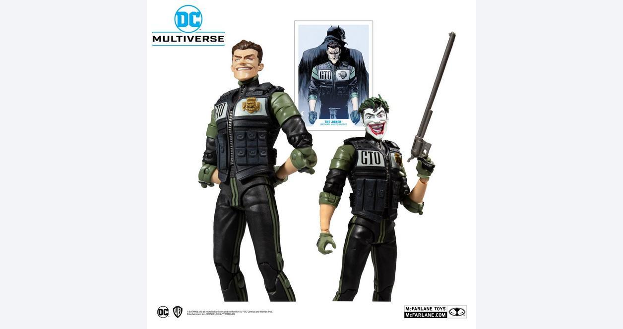 Batman: White Knight The Joker DC Multiverse Action Figure
