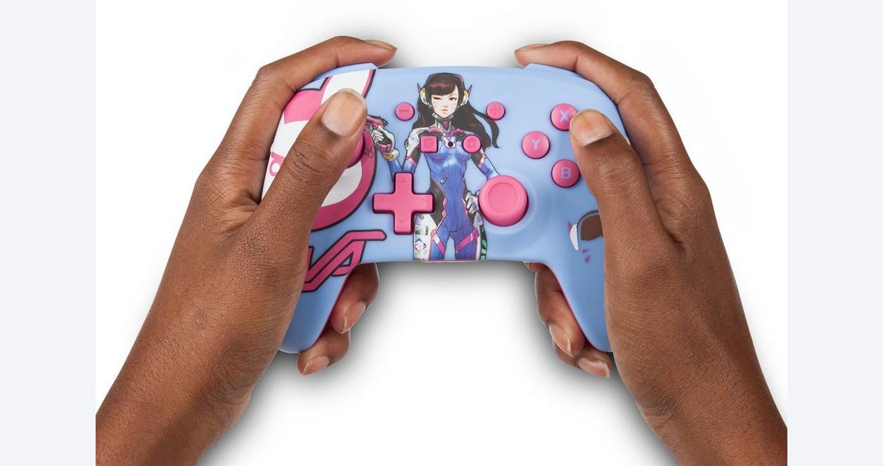 Nintendo Switch Overwatch D.Va Enhanced Wireless Controller