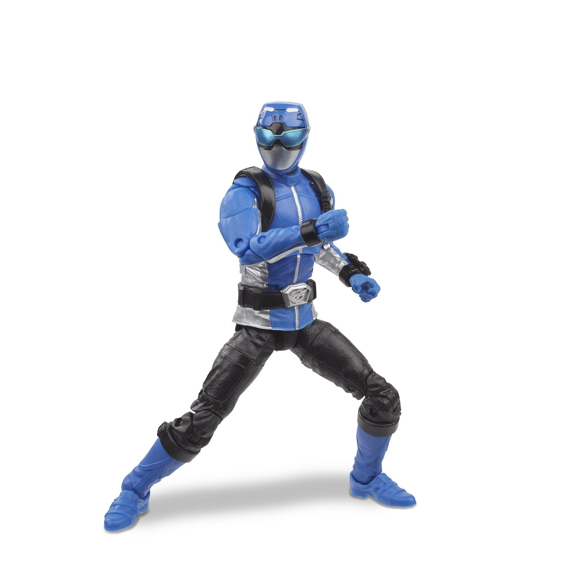 POWER Rangers 20-Inch Blue Ranger Figura