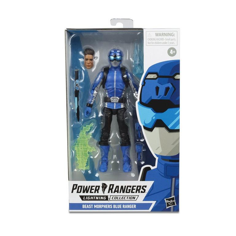Power Rangers Beast Morphers Blue Ranger Lightning Collection Action Figure