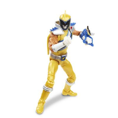 Power Rangers Dino Charge Gold Ranger Lightning Collection Figure