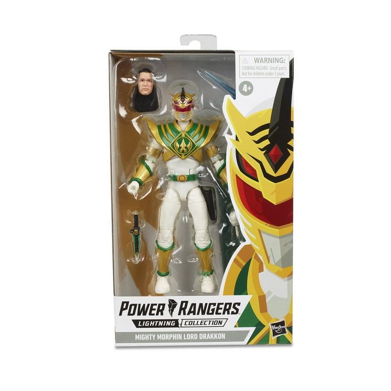 Mighty Morphin Power Rangers Lord Drakkon Lightning Collection Figure