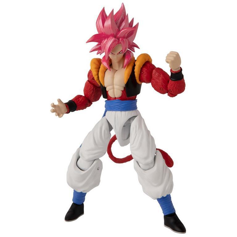 Dragon Ball Super Super Saiyan 4 Gogeta Dragon Stars Action Figure Gamestop