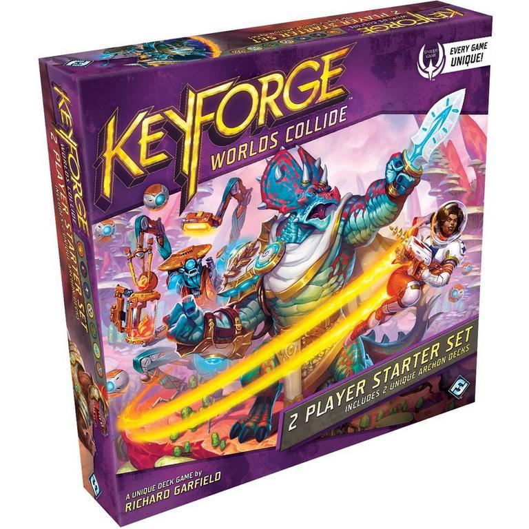 KeyForge: Worlds Collide Two-Player Starter Set