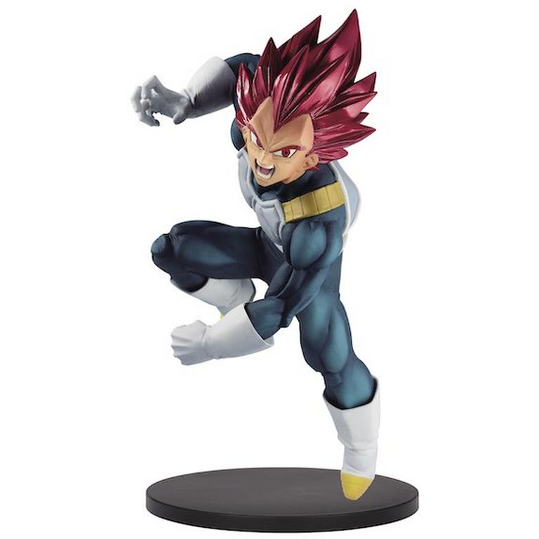 Dragon Ball Super Super Saiyan God Vegeta Blood of Saiyans Special VII Statue