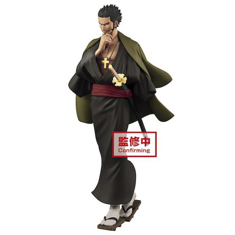 One Piece Dracule Mihawk Treasure Cruise World Journey Volume 3 Statue