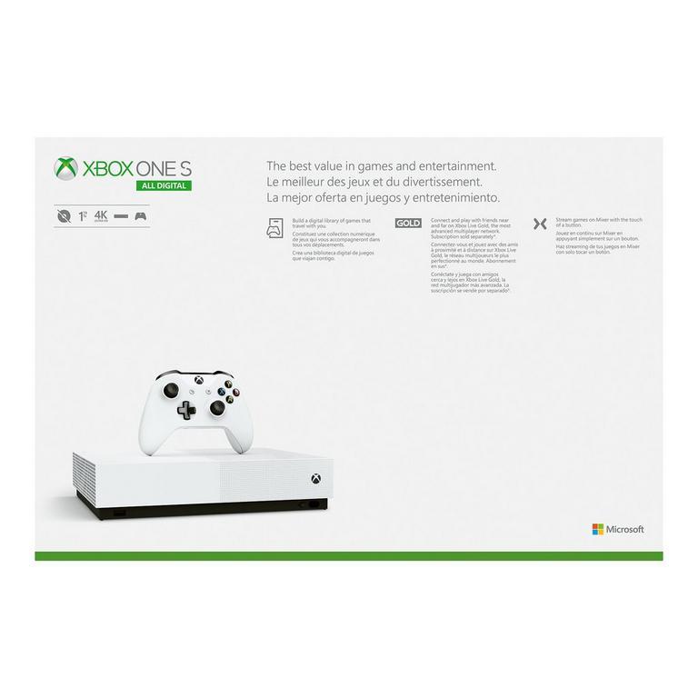 Xbox One S All-Digital Edition Bundle 1TB