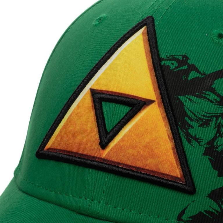 The Legend of Zelda Triforce Green Flex Fit Baseball Cap
