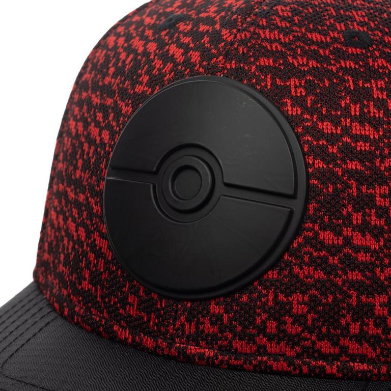 Pokemon Poke Ball Metal Badge Baseball Cap