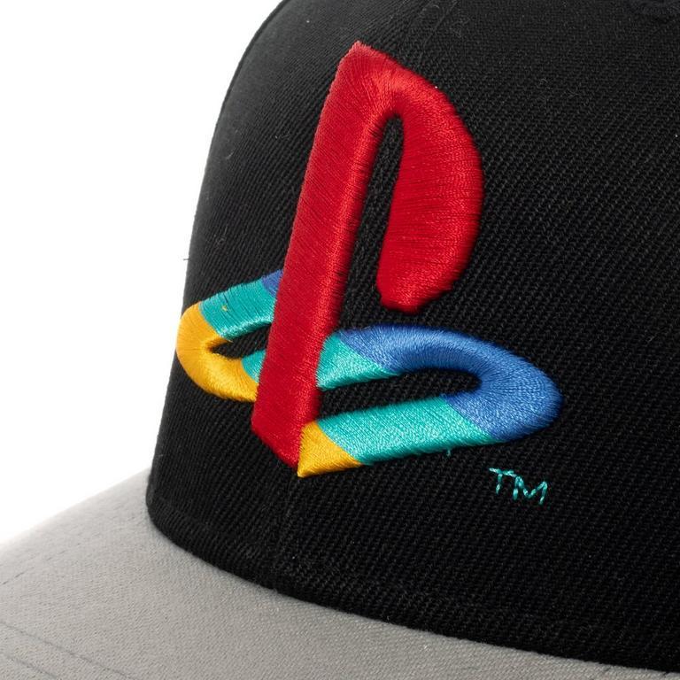 PlayStation Logo Curved Bill Baseball Cap