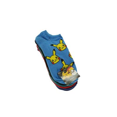 Pokemon Kanto Starters and Meowth Socks 5 Pack