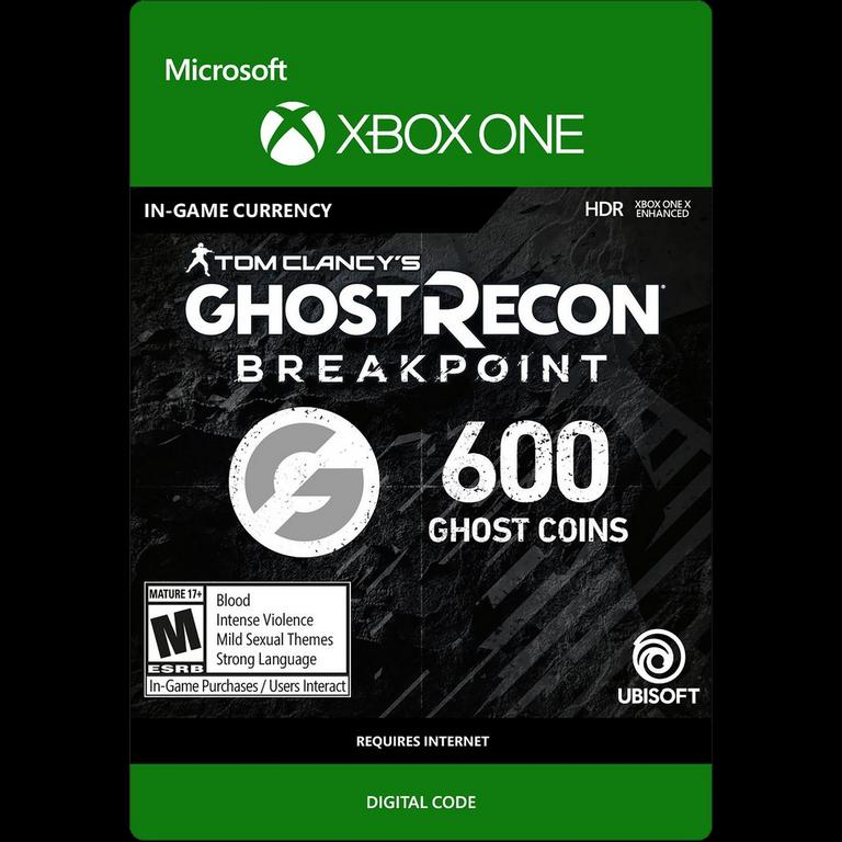 Tom Clancy S Ghost Recon Breakpoint 600 Ghost Coins Xbox One Gamestop