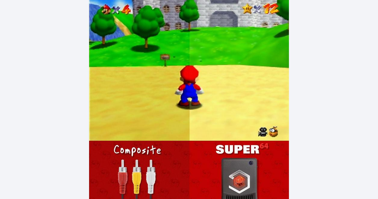 EON Super 64  Nintendo 64 HDMI Adapter