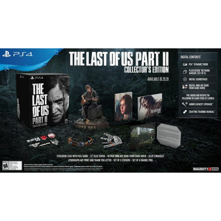 The Last Of Us Part Ii Collector S Edition Playstation 4 Gamestop