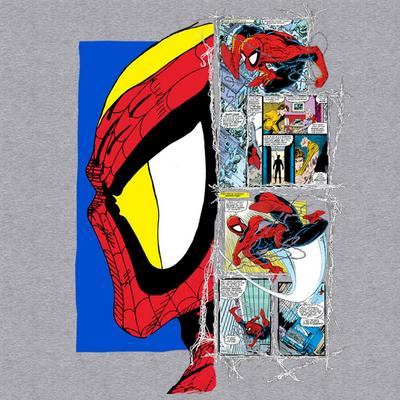 Spider-Man Profile Comic T-Shirt