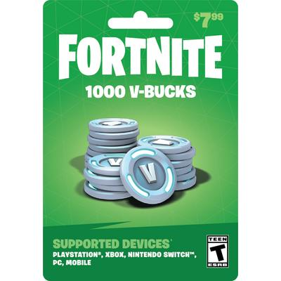 Fortnite $10 V-Bucks Digital Card