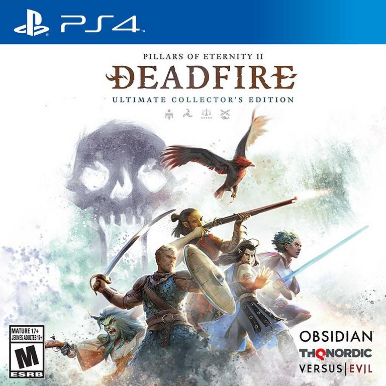 THQ Nordic Pillars Of Eternity II: Deadfire Ultimate Collector's Edition PS4 Available At GameStop Now!