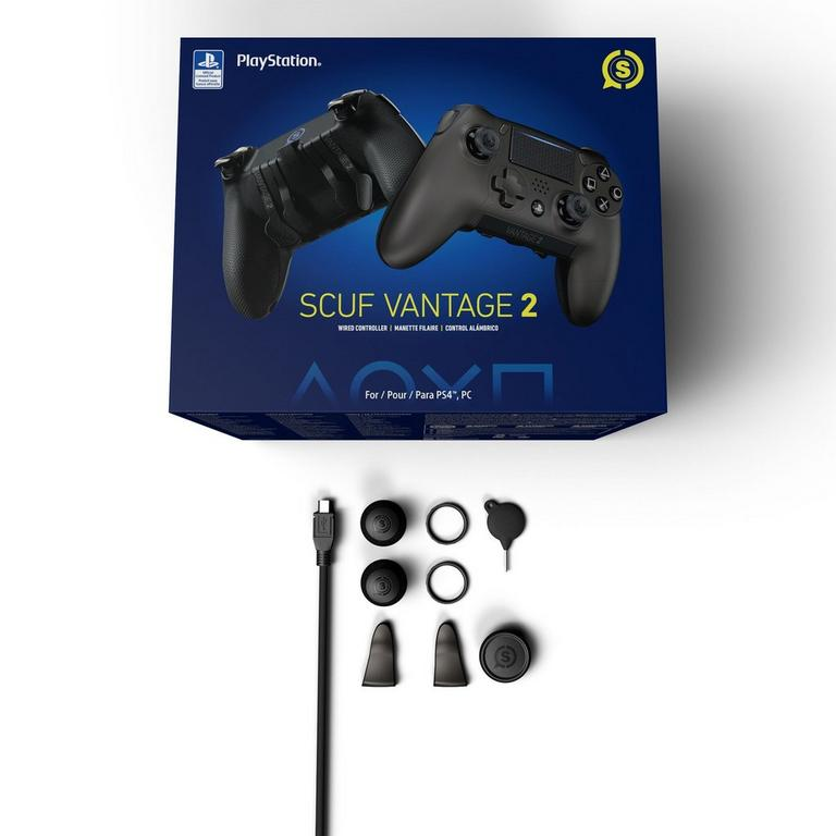 SCUF Vantage 2 Wired Controller for PlayStation 4