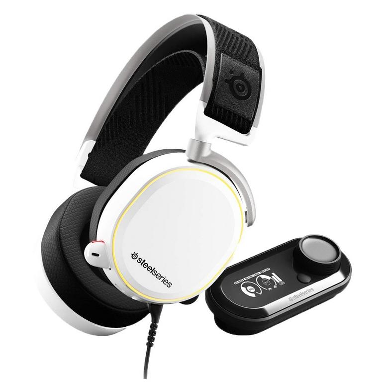 Arctis Pro and GameDAC Hi-Res White Wired Gaming Headset for PlayStation 4