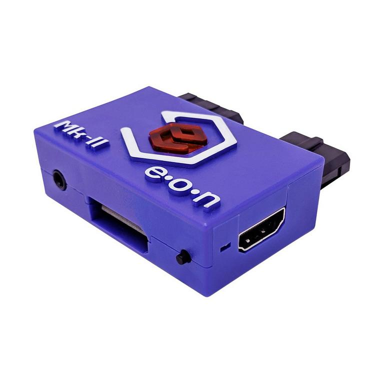 EON GCHD Mk-II GameCube HD Adapter Indigo