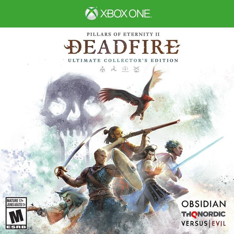 THQ Nordic Pillars Of Eternity II: Deadfire Ultimate Collector's Edition Xbox One Available At GameStop Now!