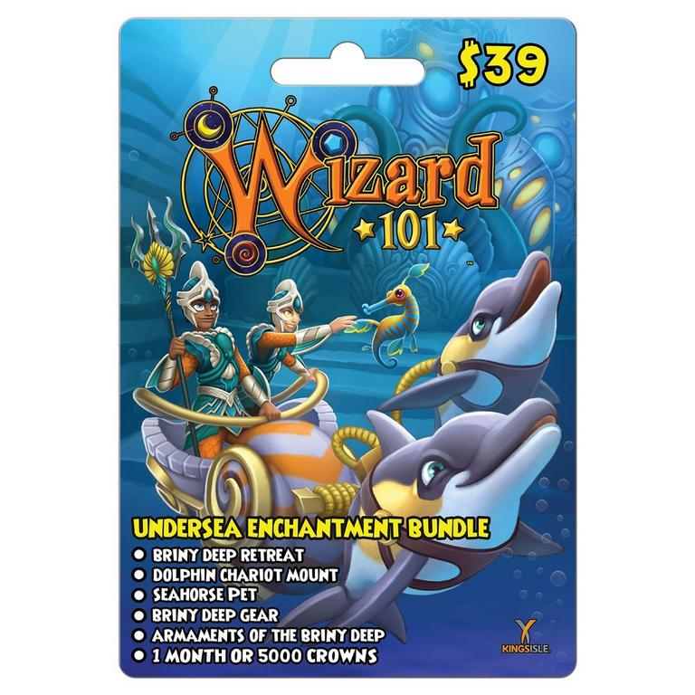 Wizard 101 Undersea Enchantment Digital Card