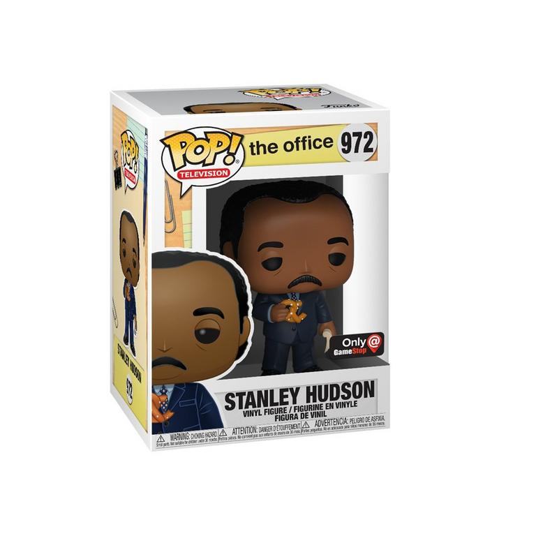 POP! TV: The Office Stanley Hudson with Pretzel Only at GameStop