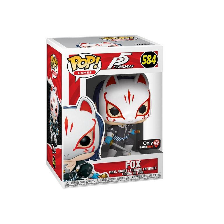 POP! Games: Persona 5 Fox Only at GameStop