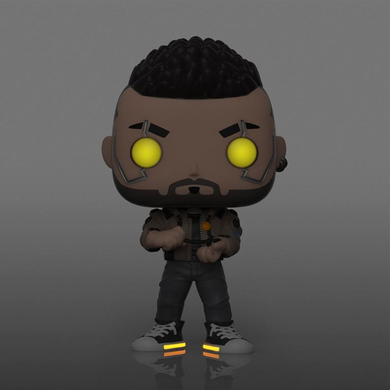 POP! Games: Cyberpunk 2077 V Male Glow in the Dark Only at GameStop