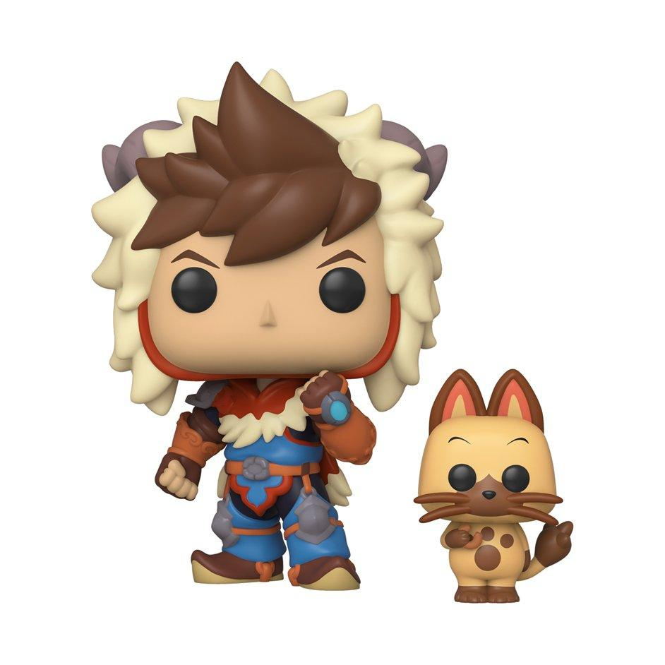 Pop And Buddy Animation Monster Hunter Stories Ride On Lute