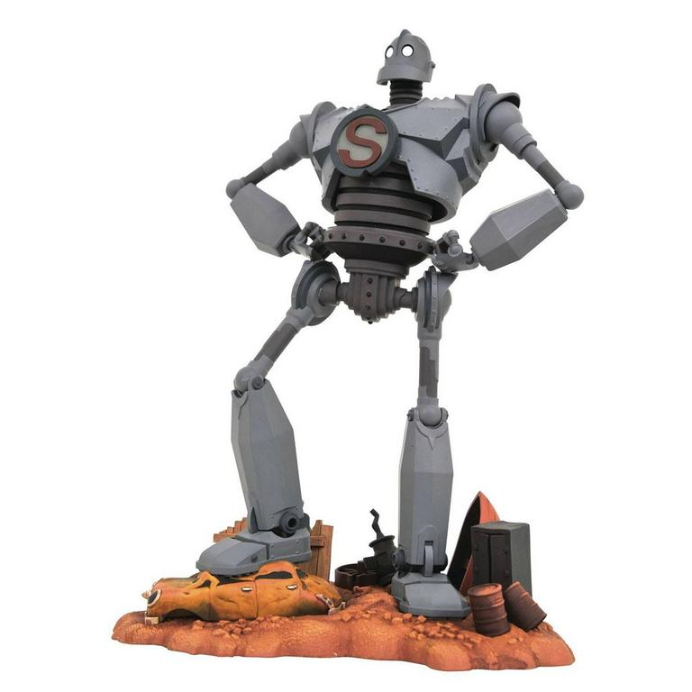 The Iron Giant Superman Pose Gallery Statue