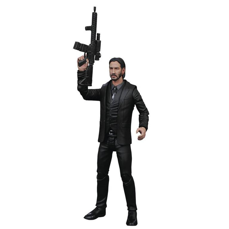 John Wick: Chapter 2 John Wick Black Suit Action Figure