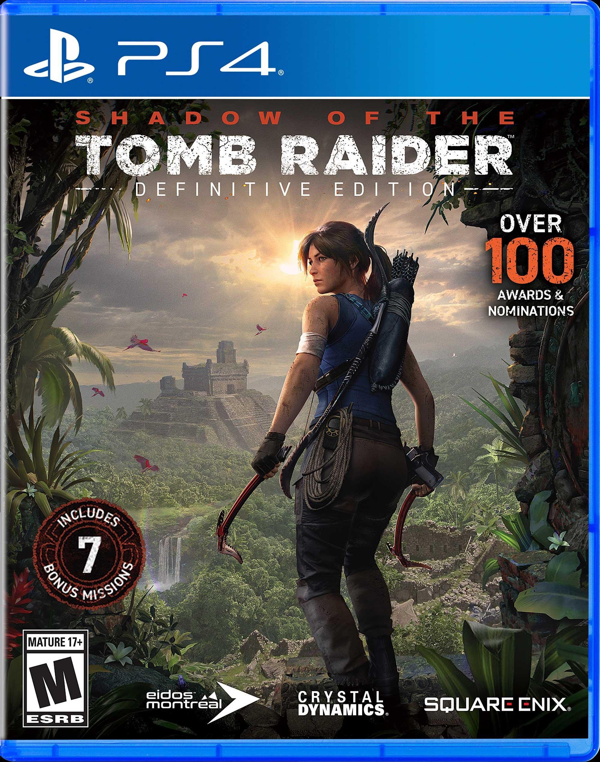 tomb raider video game order