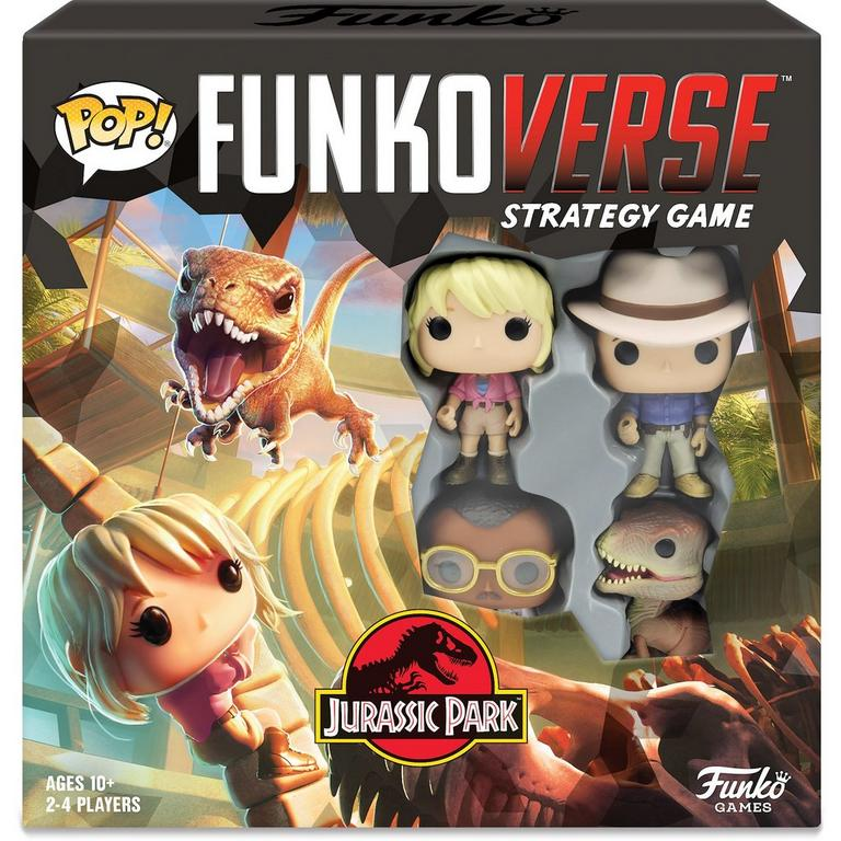 Funkoverse Strategy Game Jurassic Park 100
