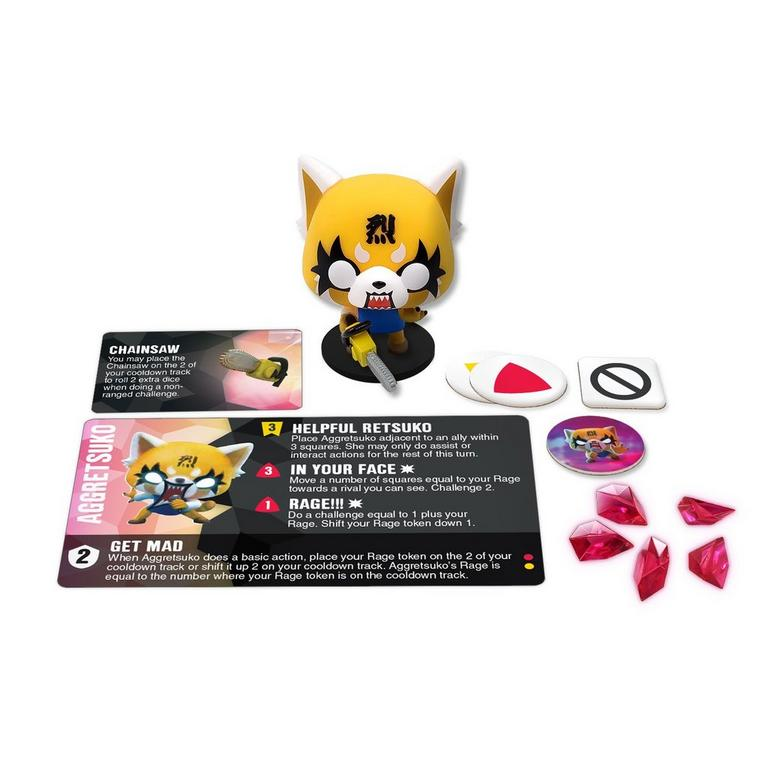 Funkoverse Game Expansion Aggretsuko 100
