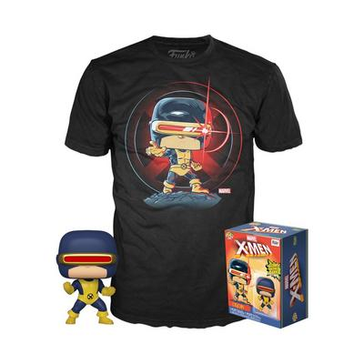 POP! and Tee: X-Men Cyclops First Appearance Glow in the Dark Only at GameStop