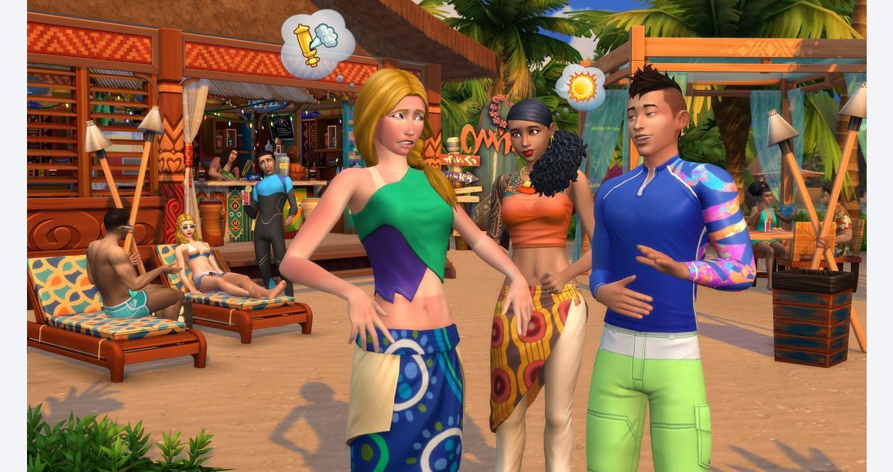 The Sims 4 Plus Island Living Bundle