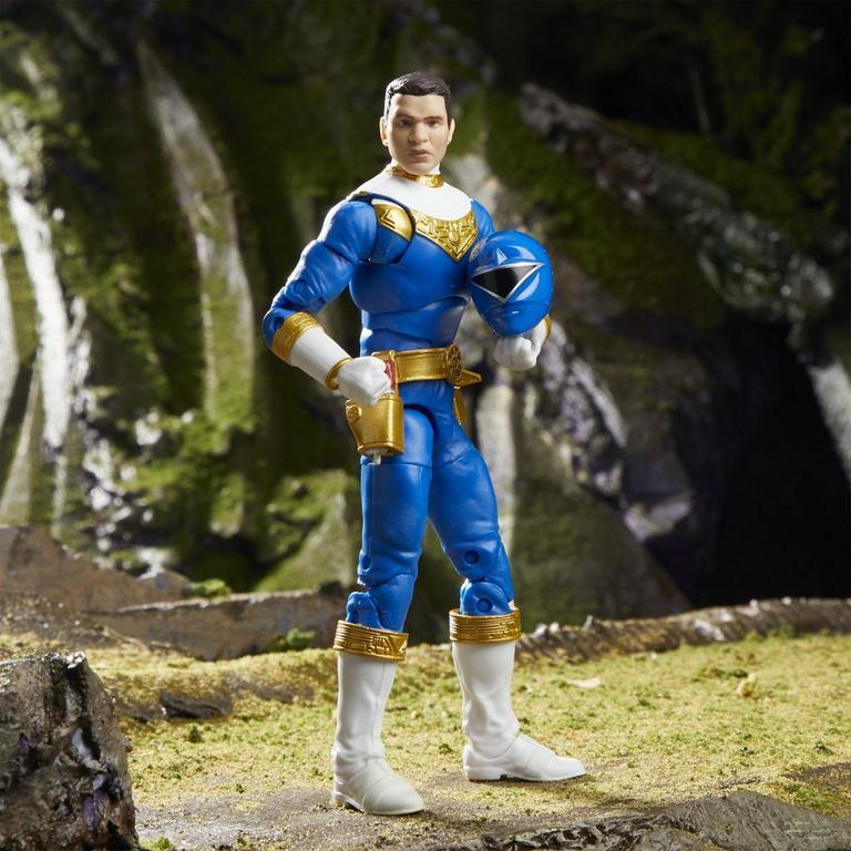 Power Rangers Zeo Blue Ranger Lightning Collection Action Figure