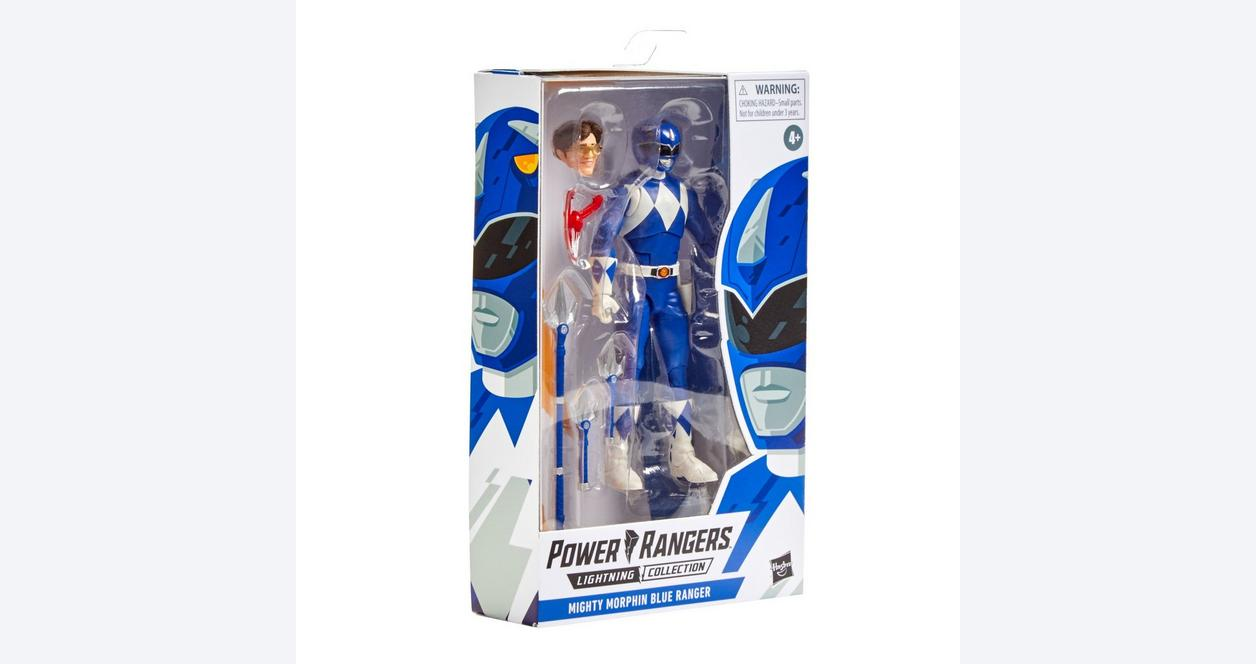 Mighty Morphin Power Rangers Blue Ranger Lightning Collection Action Figure