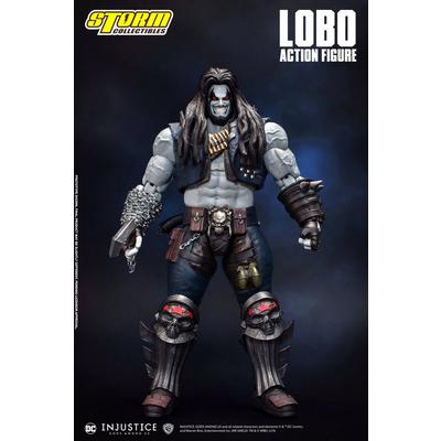 Injustice Gods Among Us Lobo Figure